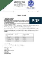 CAIET SARCINI Produse de Balastiera2012