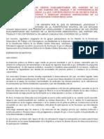 Propuesta de Reforma Política PRD, PT y Convergencia