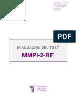 MMPI-2- Descripcion del Test