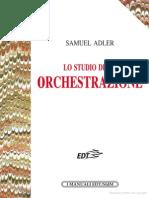 Lo Studio Dell'Orchestrazione