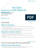 Controlling the Client Experience With Skype for Business_v1.2