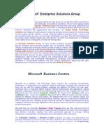 Microsoft Business Centers