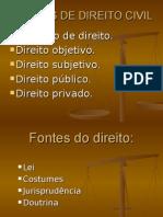 NOÇÕES DE DIREITO CIVIL MPU Especificas_20100304114226.ppt