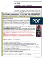 Avian Influenza - PPE Guidelines