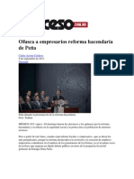 23.Ofusca a Empresarios Reforma Hacendaria de Peña