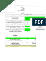 Planilla de Excel de Calculo de Finiquito Chile