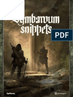 Symbaroum Snippets
