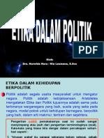 eTIKA DALAM POLITIK.ppt
