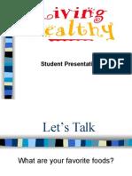 Student Presentation Aug 21