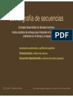 Estratigrafia Secuencias
