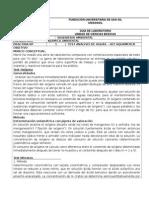 Practica de Laboratorio Nº 1 de Quimica Ambiental (Nueva) 2014-1