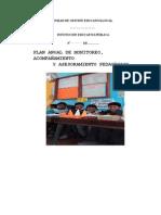 Plan de Monitoreo, Acompañamiento y Asesoramiento Pedagogico