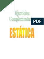Ejercicios Complementarios Estática