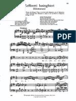 Solitudini Amiche Idomeneo Mozart