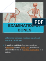 examination of skeletal remaiins-introduction