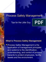 Process Safety Management Presentation