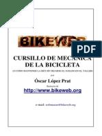 Cursillo de mecánica para la bicileta