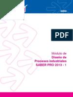 Modulo de Diseño de Procesos Industriales 2013-1