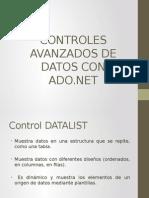 Controles Avanzados de Datos Con Ado