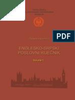 Englesko Srpski Poslovni Rjecnik Vol.1