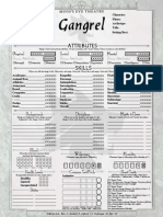 Gangrel Blank Sheet Copy