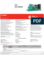 Spec Sheeet C400D6_SP