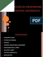 Mechanical Properties of Dental Materials