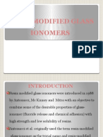 Resin Modified Glass Ionomer