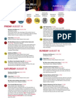 Wolfpack Welcome Week Schedule