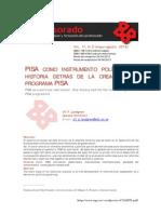 PISA Como Instrumento Politico