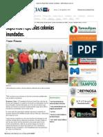 08-20-2015 Supervisa Pepe Elías Colonias Inundadas