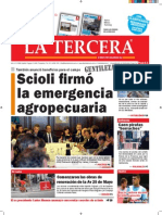 Diario La Tercera 21.08.2015