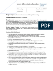 Project Guidelines (Act 333)