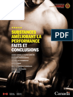 Substances Améliorant La Performance Faits Et Conclusions