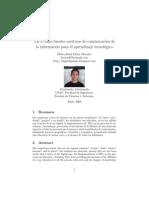 TICs como fuentes asertivas de comunicación de la información para el aprendizaje tecnológico