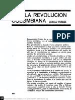 Camilo Torres Por La Revolucion Colombiana