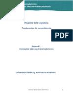 Unidad 1. Conceptos Basicos de Mercadotecnia _Actividades