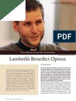 Lambeth Benedict Option