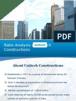 Unitech Ratio Analysis