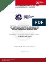 Calle Lizet Desarrollo Automatizar Procesos Entidad Financiera Negocio Bpms