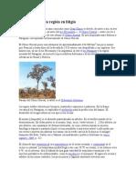 Descripción de La Región en Litigio