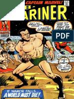 Prince Namor, The Sub Mariner 30 Vol 1 Captain Marvel