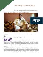 Is Sidi Mohamed Dadach North Africa's Mandela