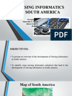 Nursing Informatics in South America