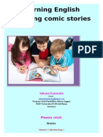Learning English by Using Comic Stories