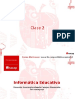 Clase 2 informatica educativa
