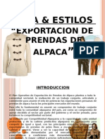 Presentacion de Mosa & Estilos-1 Chompa de Alpaca