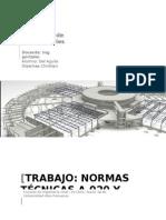 Trabajo N°1 sobre las  normas a020 ye060 Peru