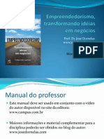 Manual do Professor Empreendedor