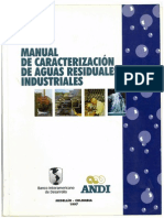 Manual de Caracterizacion de Aguas Residuales Industriales